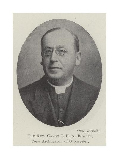 The Reverend Canon JPA Bowers, New Archdeacon of Gloucester--Giclee Print