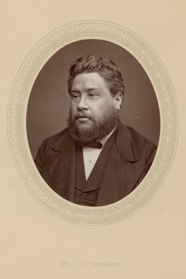 The Reverend Charles Haddon Spurgeon--Photographic Print