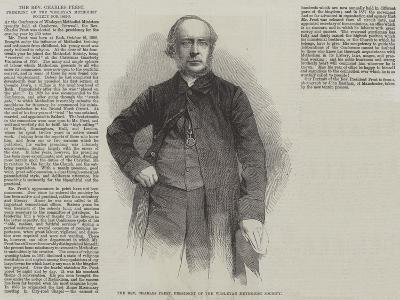 The Reverend Charles Prest, President of the Wesleyan Methodist Society--Giclee Print