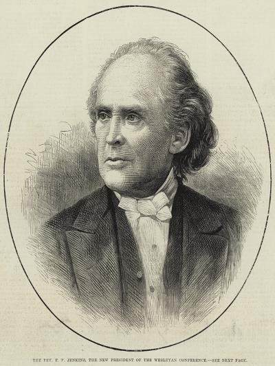 The Reverend E E Jenkins, the New President of the Wesleyan Conference--Giclee Print