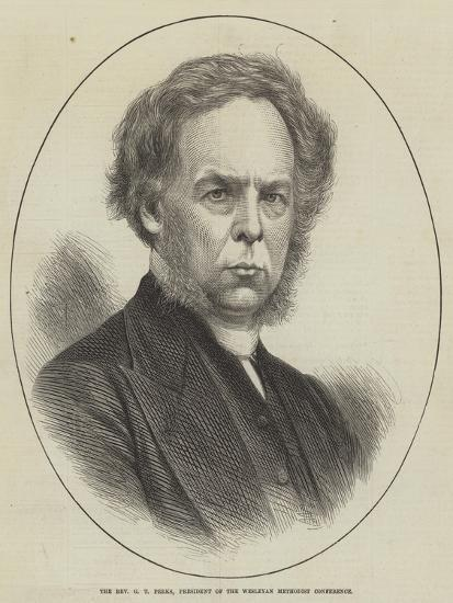 The Reverend G T Perks, President of the Wesleyan Methodist Conference--Giclee Print