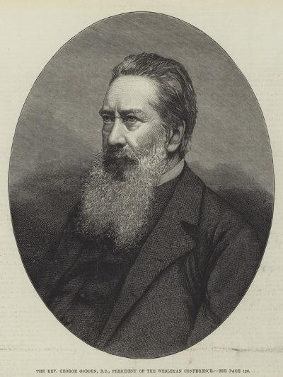 The Reverend George Osborn, Dd, President of the Wesleyan Conference--Giclee Print