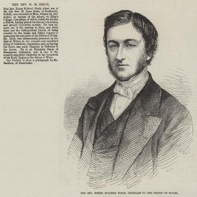 The Reverend Henry Mildred Birch, Chaplain to the Prince of Wales--Giclee Print