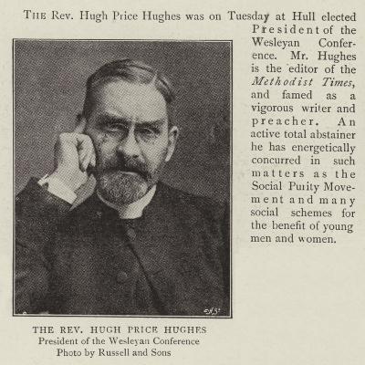 The Reverend Hugh Price Hughes--Giclee Print