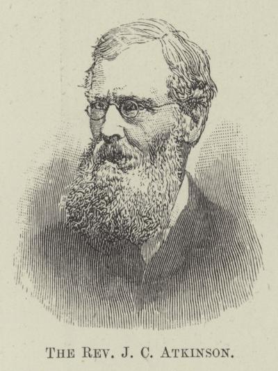 The Reverend J C Atkinson--Giclee Print