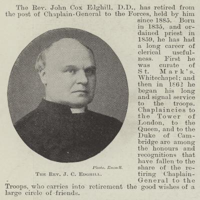 The Reverend J C Edghill--Giclee Print