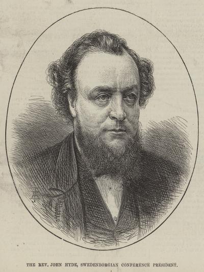The Reverend John Hyde, Swedenborgian Conference President--Giclee Print