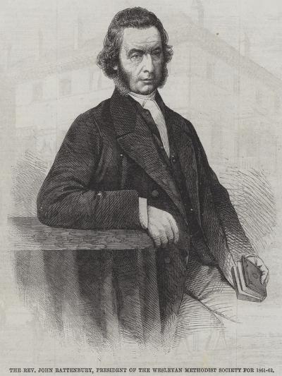 The Reverend John Rattenbury, President of the Wesleyan Methodist Society for 1861-62--Giclee Print