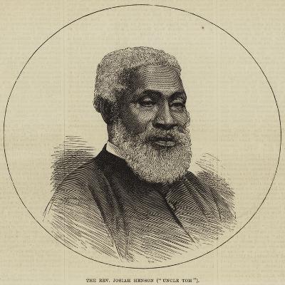 The Reverend Josiah Henson (Uncle Tom)--Giclee Print