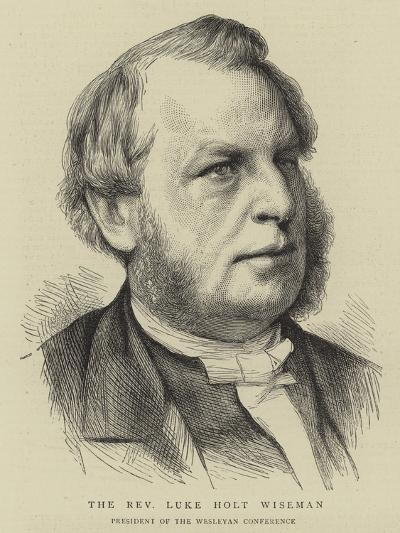 The Reverend Luke Holt Wiseman--Giclee Print
