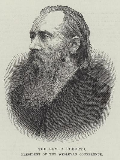 The Reverend R Roberts, President of the Wesleyan Conference--Giclee Print