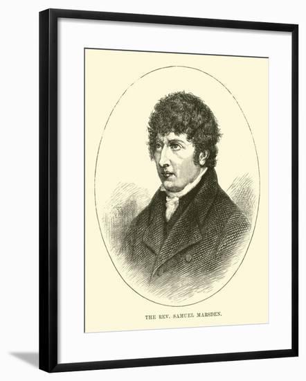 The Reverend Samuel Marsden--Framed Giclee Print