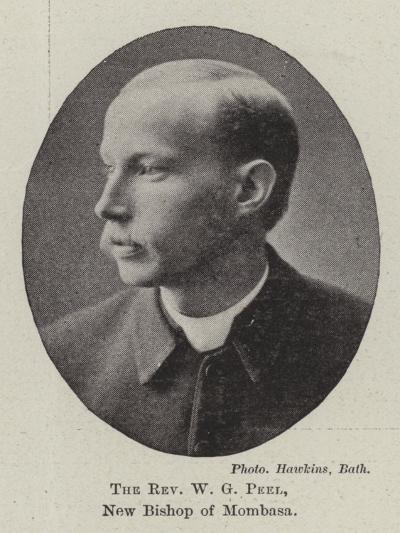 The Reverend W G Peel, New Bishop of Mombasa--Giclee Print