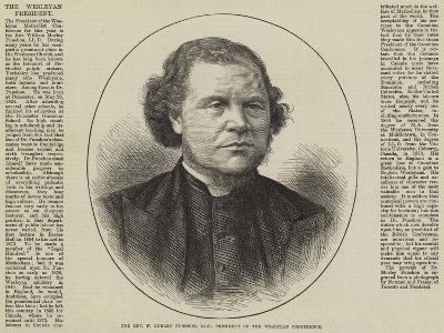 The Reverend W Morley Punshon, Lld, President of the Wesleyan Conference--Giclee Print