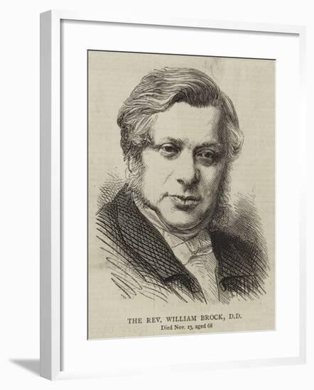 The Reverend William Brock--Framed Giclee Print