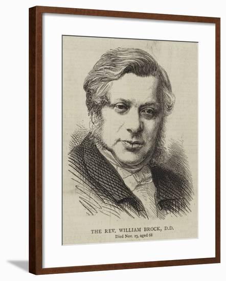 The Reverend William Brock--Framed Giclee Print