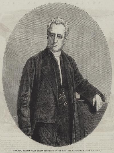 The Reverend William Wood Stamp, President of the Wesleyan Methodist Society for 1860-61--Giclee Print