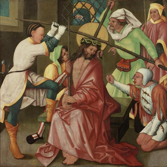 The Reviling of Christ, C.1510-30-Hans Leonard Schaufelein-Giclee Print
