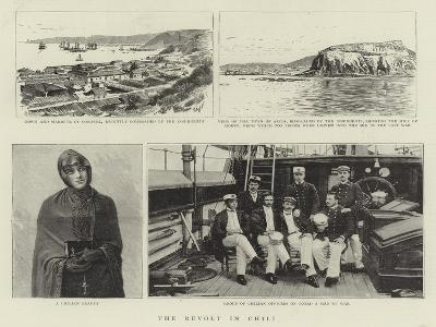 The Revolt in Chili--Giclee Print
