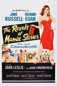The Revolt of Mamie Stover, Left: Richard Egan; Right: Jane Russell, 1956