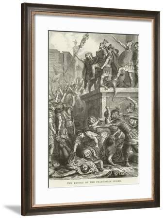 The Revolt of the Praetorian Guard--Framed Giclee Print