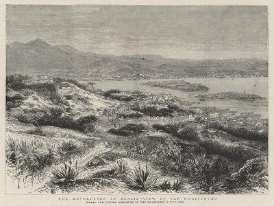 The Revolution in Brazil, View of San Christovao--Giclee Print