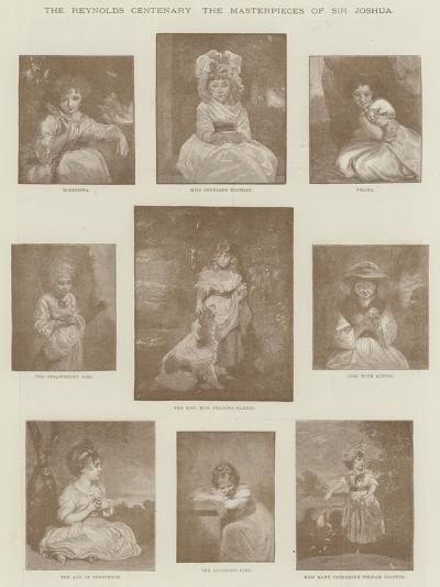 The Reynolds Centenary, the Masterpieces of Sir Joshua--Giclee Print
