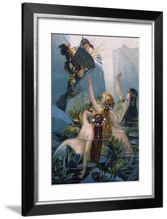 The Rhine Gold-Richard Wagner-Framed Giclee Print