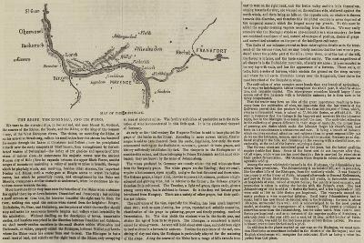 The Rhine, the Rheingau, and its Wines--Giclee Print