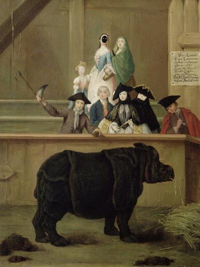 The Rhinoceros, 1751-Pietro Longhi-Giclee Print