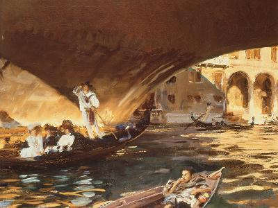 The Rialto, Venice-John Singer Sargent-Giclee Print