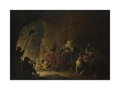 The Rich Man Being Led to Hell, C. 1647-1648-David Teniers the Younger-Giclee Print