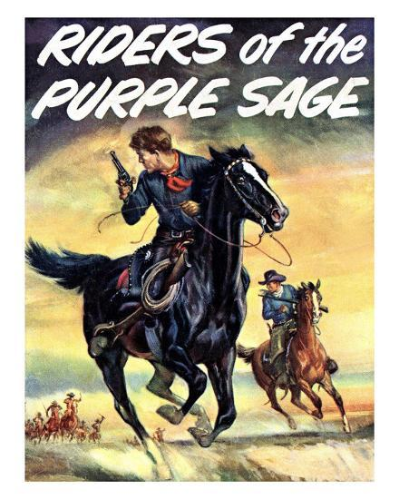 The Riders of the Puple Sage--Giclee Print