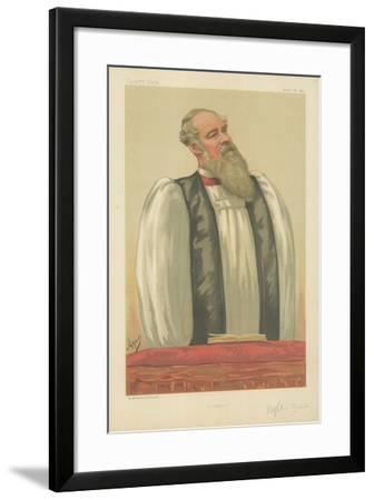 The Right Rev John Charles Ryle, Bishop of Liverpool, Liverpool, 26 March 1881, Vanity Fair Cartoon-Carlo Pellegrini-Framed Giclee Print