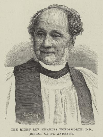 The Right Reverend Charles Wordsworth, Dd, Bishop of St Andrews--Giclee Print