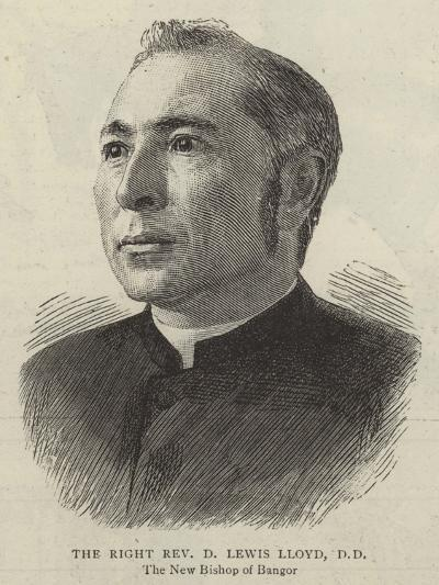 The Right Reverend D Lewis Lloyd--Giclee Print