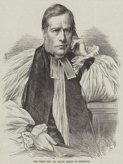 The Right Reverend Dr Atlay, Bishop of Hereford--Giclee Print