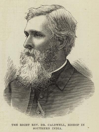 The Right Reverend Dr Caldwell, Bishop in Southern India--Giclee Print
