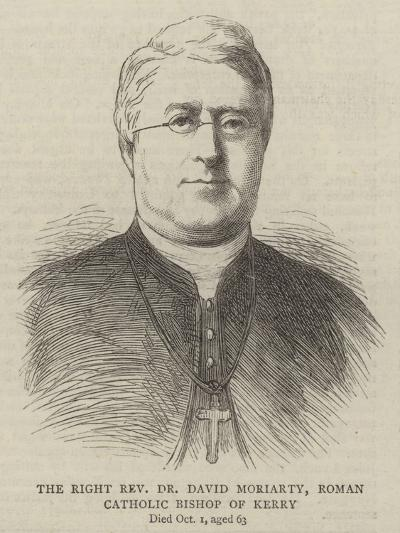 The Right Reverend Dr David Moriarty, Roman Catholic Bishop of Kerry--Giclee Print