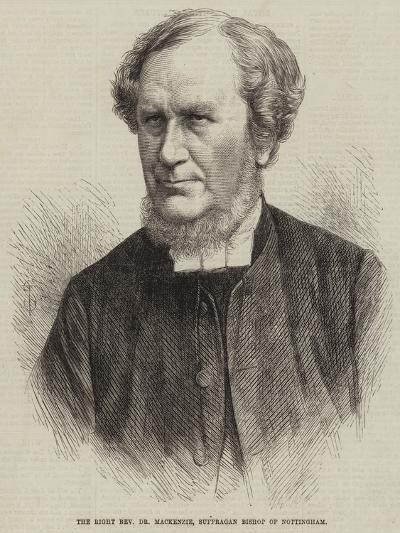 The Right Reverend Dr Mackenzie, Suffragan Bishop of Nottingham--Giclee Print