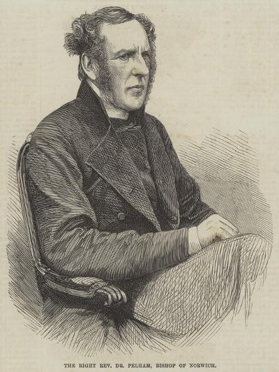 The Right Reverend Dr Pelham, Bishop of Norwich--Giclee Print