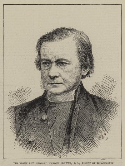 The Right Reverend Edward Harold Browne, Bishop of Winchester--Giclee Print