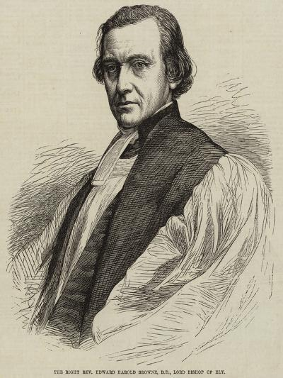 The Right Reverend Edward Harold Browne, Dd, Lord Bishop of Ely--Giclee Print