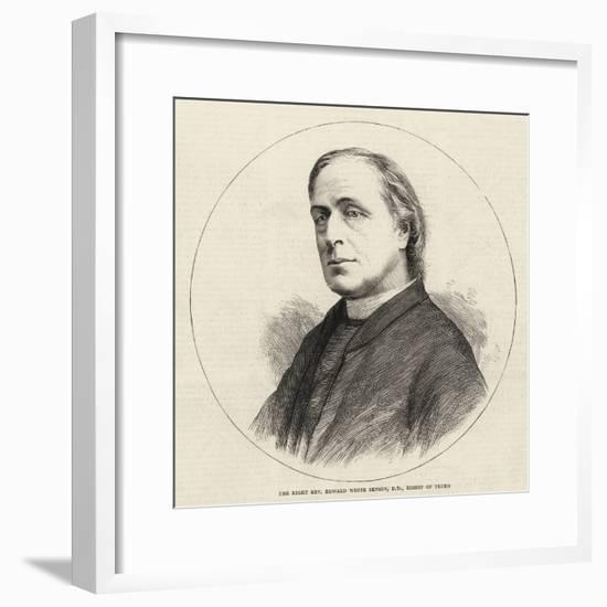 The Right Reverend Edward White Benson, DD, Bishop of Truro--Framed Giclee Print