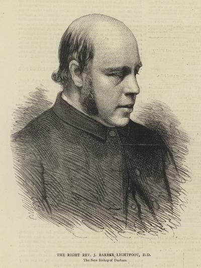 The Right Reverend J Barber Lightfoot--Giclee Print