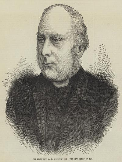 The Right Reverend J R Woodford, Dd, the New Bishop of Ely--Giclee Print