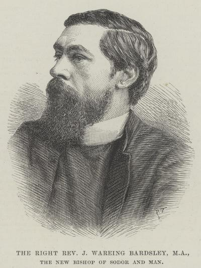 The Right Reverend J Wareing Bardsley, Ma, the New Bishop of Sodor and Man--Giclee Print
