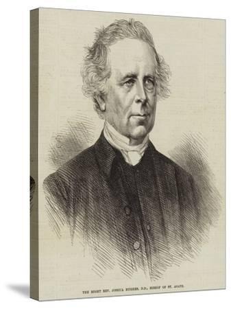 The Right Reverend Joshua Hughes, Dd, Bishop of St Asaph--Stretched Canvas Print
