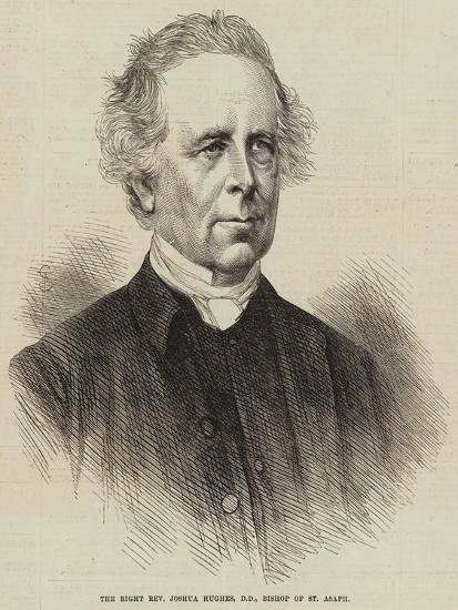 The Right Reverend Joshua Hughes, Dd, Bishop of St Asaph--Giclee Print