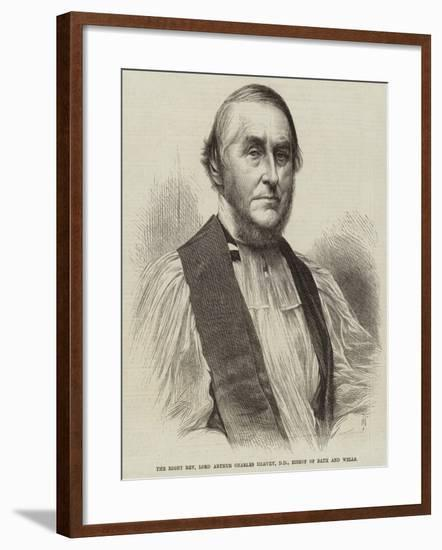 The Right Reverend Lord Arthur Charles Hervey, Dd, Bishop of Bath and Wells--Framed Giclee Print